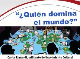 """Acto del Aula de Doctrina Social de la Iglesia: ¿quien domina el mundo"""""""