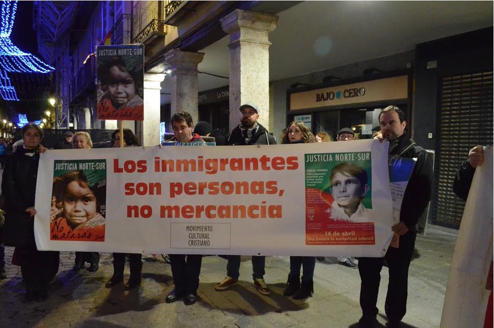 Los inmigrantes son personas no mercancías