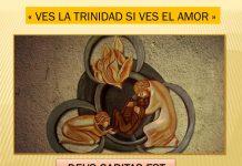 """""""Ves la Trinidad si ves el Amor"""" (Deus caritas est)"""