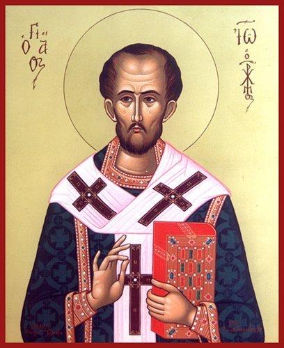 ¿Deseas honrar el cuerpo de Cristo? No lo desprecies, pues, cuando lo contemples desnudo en los pobres. (S Juan Crisósotomo, Antioquía (Siria) año 347-407).