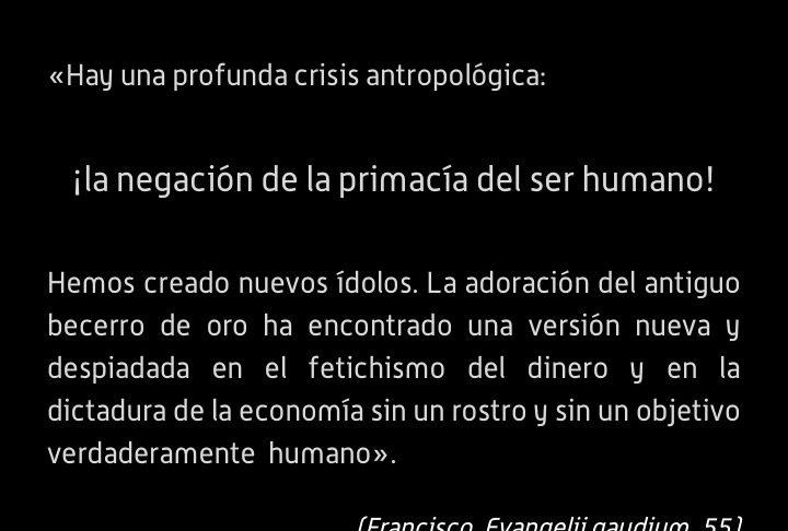 Tres claves para la rehumanizacion de la economía