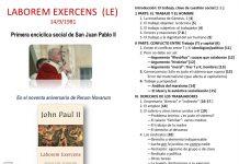 La primera encíclica social del papa Juan Pablo II
