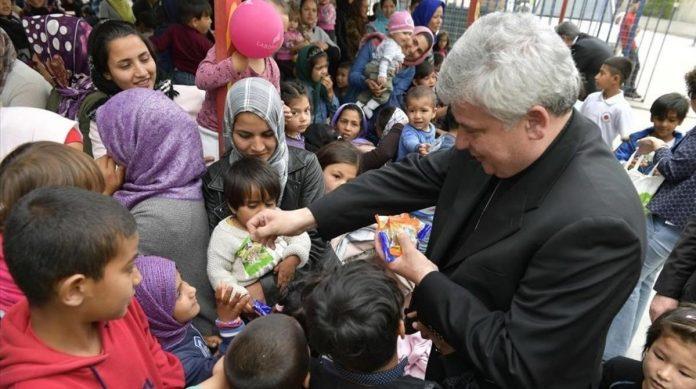El cardenal Krajewski aplicó el principio de la Doctrina Social de la Iglesia que en caso de necesidad, sobre todo el de los más empobrecidos, todos los bienes son comunes.