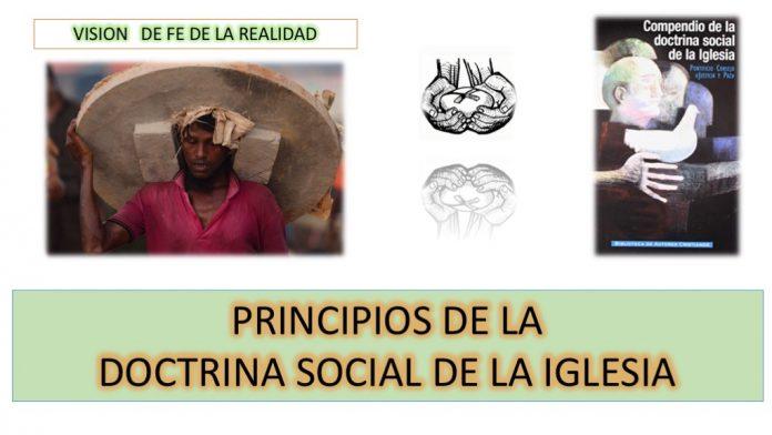 Los principios fundamentales de la doctrina social de la Iglesia como expresión de la antropología cristiana